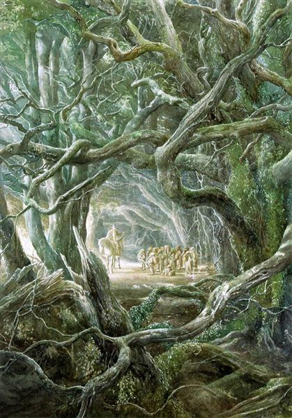 Gandalf's Farewell - Alan Lee
