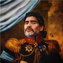 Diego Maradona - Fabrizio Birimbelli (Pupazarro)