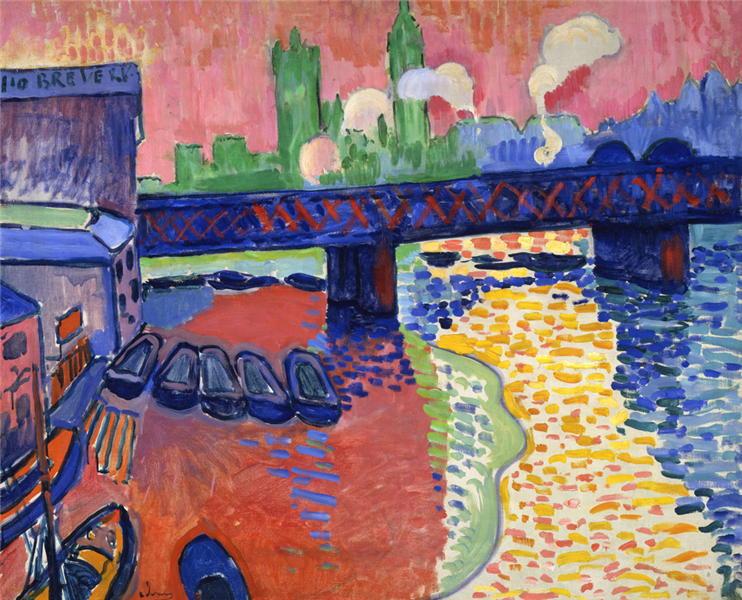 Charing Cross Bridge, London - Andre Derain