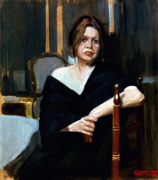 Woman in living room, 2004 - Alejandro Cabeza