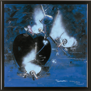 HELLBLAU RAUCHT - Christian Attersee