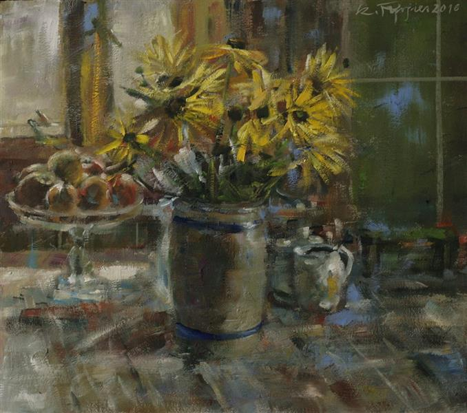 Kwiaty. - Czesław Jan Pyrgies