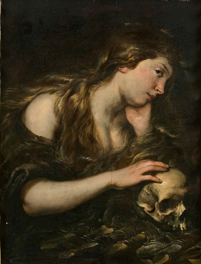 Penitent Magdalene, c.1624 - Jan Cossiers
