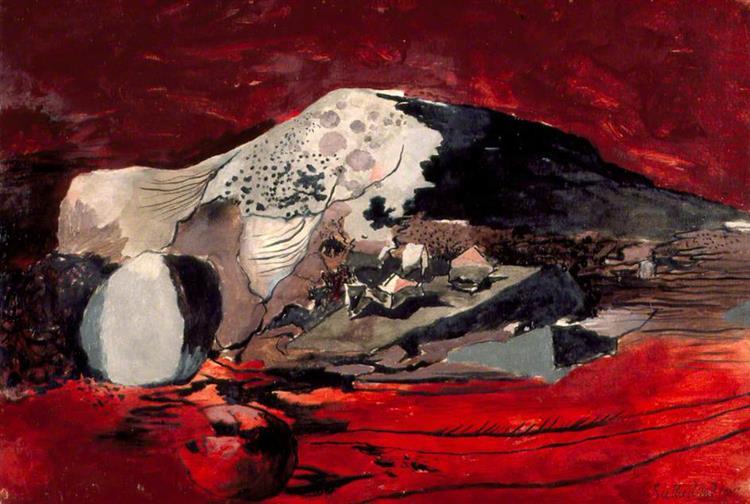 Red Landscape, 1942 - Graham Sutherland