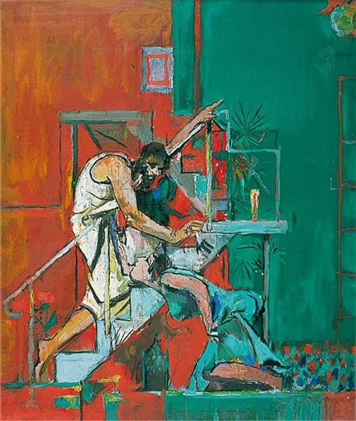 Christ Appearing to Mary Magdalen (Noli Me Tangere), 1961 - Graham Sutherland