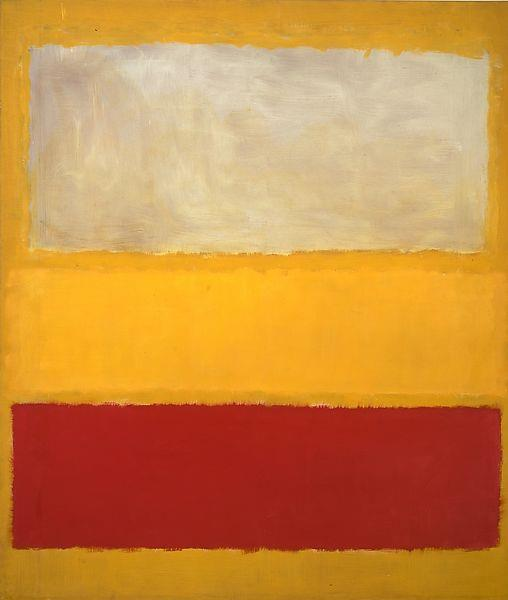 No. 13 (White, Red on Yellow), c.1958 - Марк Ротко