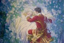 Sleeping Beauty and the Prince - Elenore Abbott