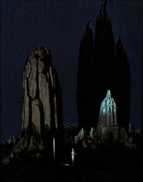 Grota Świątyni Tajemnic, 1924 - Boleslas Biegas
