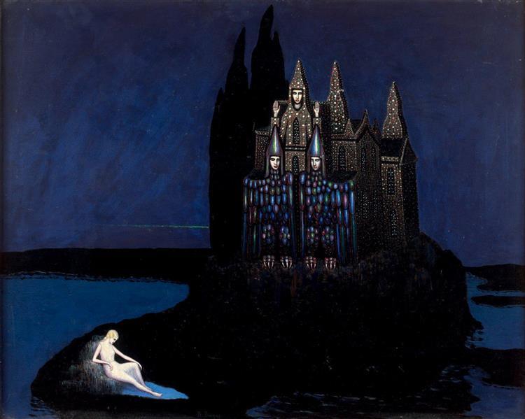 Château de la petite déesse solitaire - Boleslas Biegas