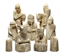 The Lewis Chessmen - Viking art