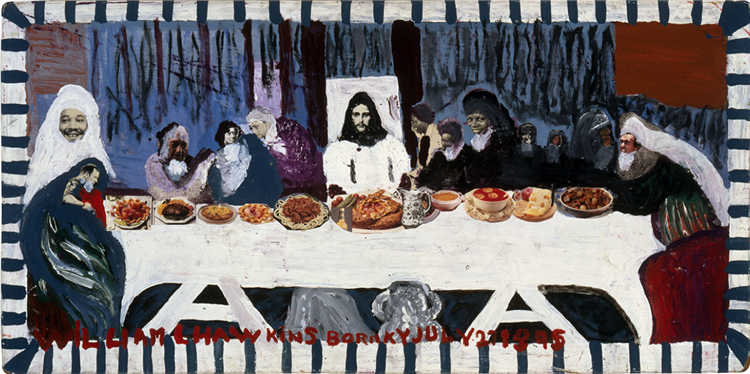 Last Supper #6, 1986 - William Hawkins