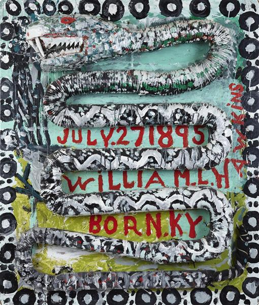 Dragon Snake, 1987 - William Hawkins