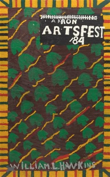 Akron Artfest 84, 1984 - William Hawkins