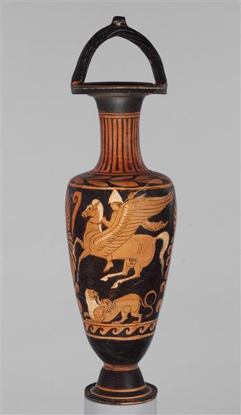 Terracotta Bail Amphora (jar), c.310 BC - Ancient Greek Pottery