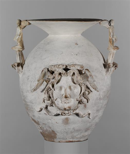 Terracotta Two Handled Vase, c.300 BC - Ancient Greek Pottery