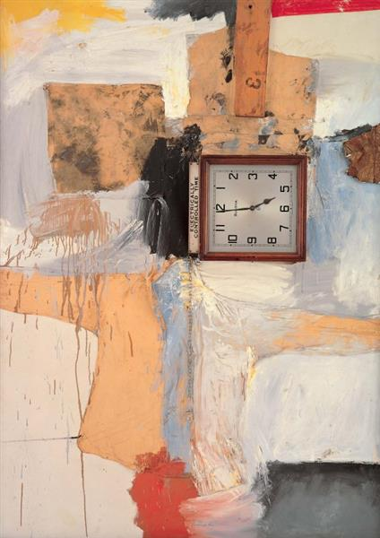 Third Time Painting, 1961 - Robert Rauschenberg