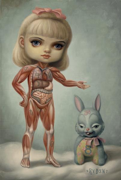 Inside Sue, 1997 - Mark Ryden