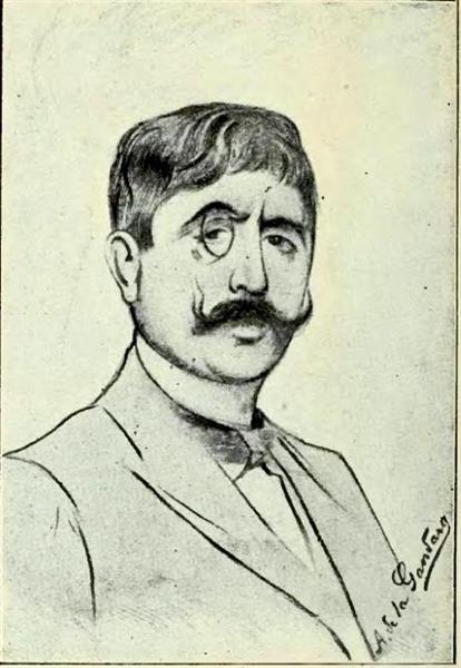 Greek Symbolist Poet Jean Moréas - Antonio de La Gándara