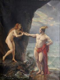 Persée Délivrant Andromède - Gustave Courtois