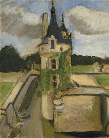 Lla Tour De Chenonceaux, 1917 - Henri Matisse