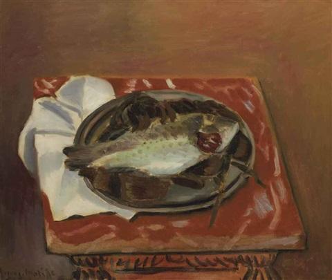 Nature Morte À La Daurade, 1920 - Henri Matisse