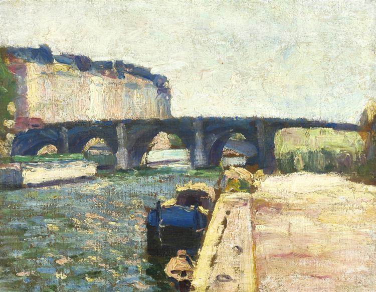 Pont De Seine, 1897 - Henri Matisse