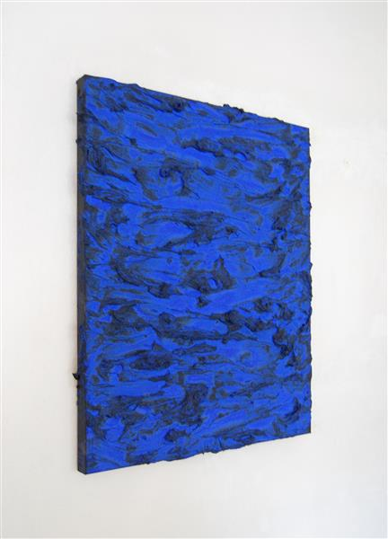 """""""Darkness into Blue""""  2019, 2019 - Roger Weik"""