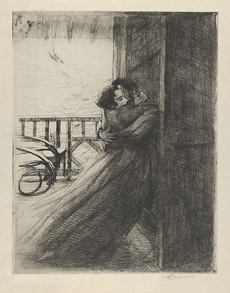 Love, c.1886 - Paul-Albert Besnard