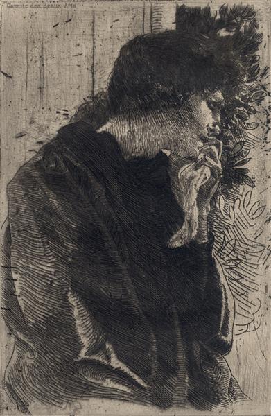 Sadness, 1887 - Paul-Albert Besnard