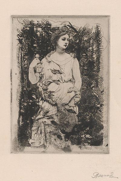 Flora, 1888 - Paul-Albert Besnard