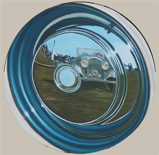 Bentley in the Hubcap - Vidita Singh
