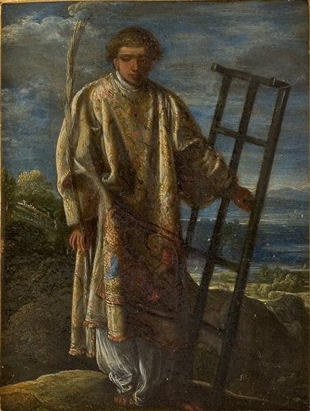 Saint Laurent, 1605 - Adam Elsheimer