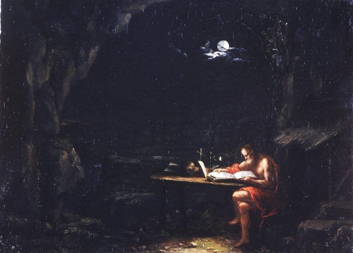 Saint Jerome - Adam Elsheimer