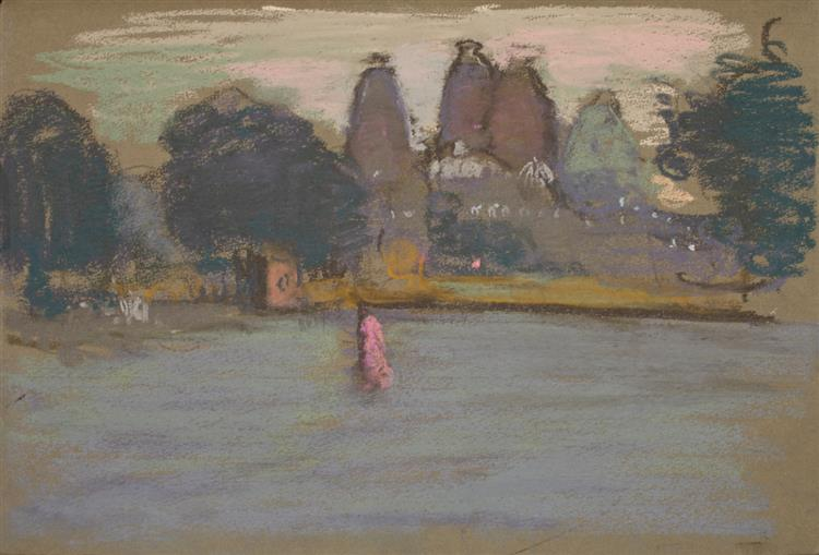 Pink Figure near the Red Fort, Dehli - Martin Yeoman