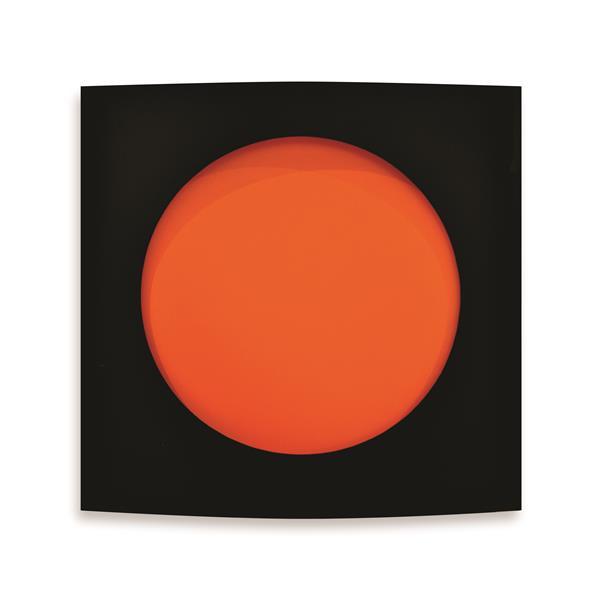 Black and Orange - Rashid Al Khalifa