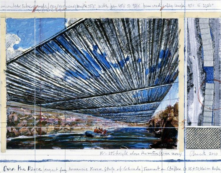 Over the River (Unrealized) - Christo and Jeanne-Claude