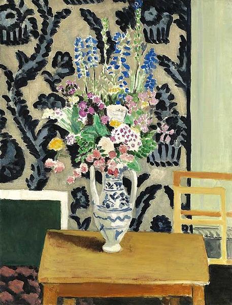 Bouquet de Fleurs pour le Quatorze Juillet, 1919 - Анри Матисс