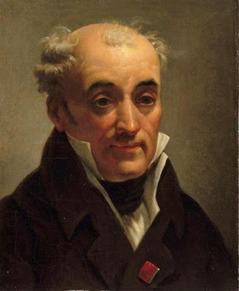 Self-portrait, c.1805 - Pierre-Henri de Valenciennes