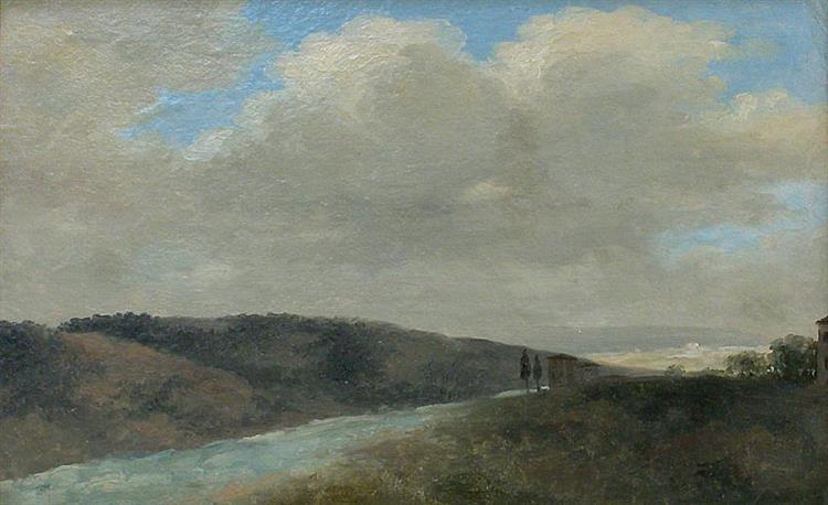 Italienische Landschaft - Pierre-Henri de Valenciennes