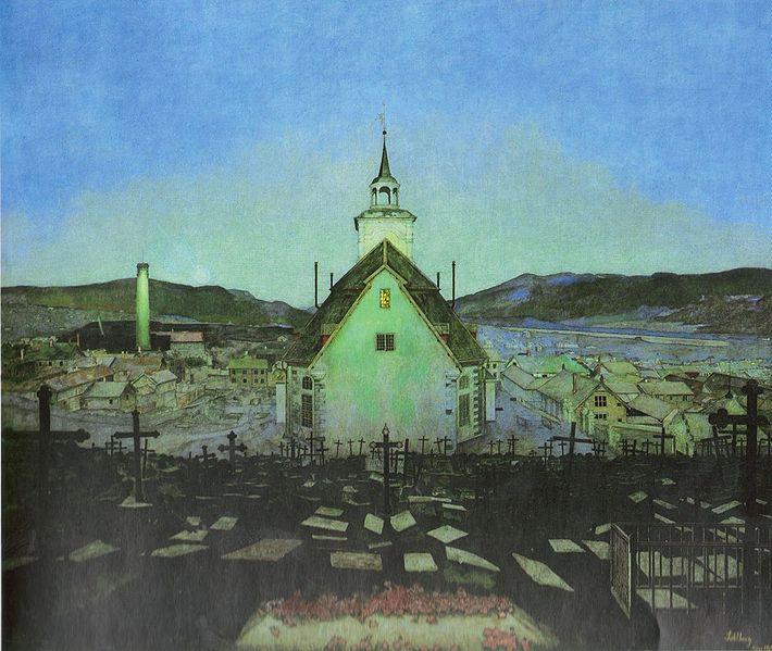Noite - Harald Sohlberg