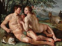 The Fall of Man - Hendrick Goltzius