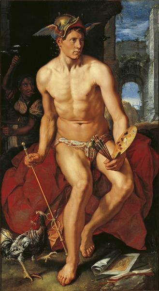 Mercury, 1611 - Hendrick Goltzius