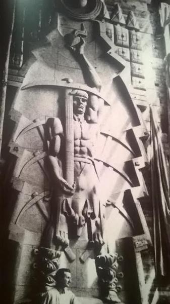 Monument to a Miner - Stanisław Szukalski
