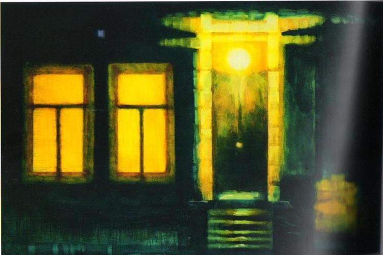 Night Porch - Valeria Trubina