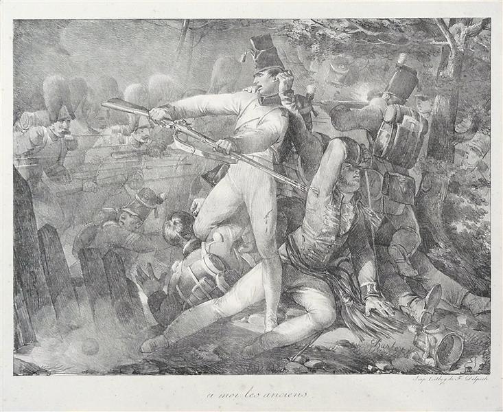 « A Moi les Anciens », 1819 - Charlet