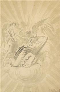 Scène Biblique (Moïse) - Fernand Combes
