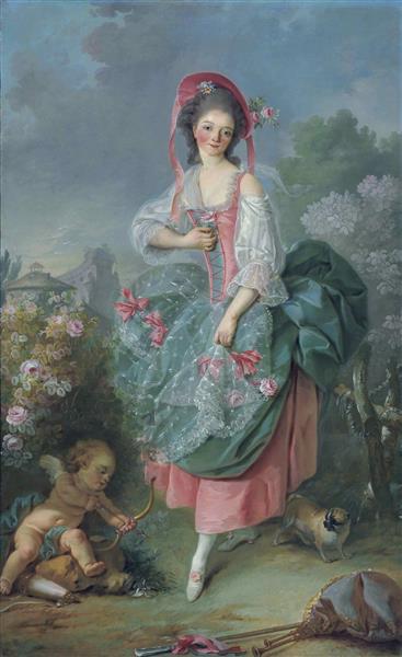 Mademoiselle Guimard, c.1773 - Jacques-Louis David
