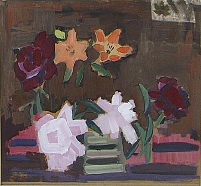 Paeonies, 1969 - Elena Bontea
