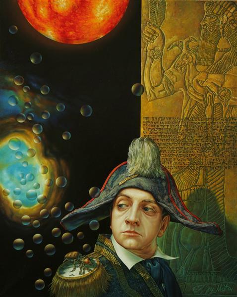 Napoleon at the gates of Babylon, 2007 - Iurie Matei