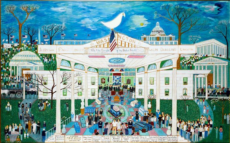American Heritage, 1974 - Ralph Fasanella